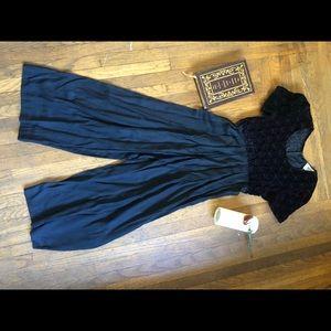 Black Vintage Jumpsuit. Size 10P